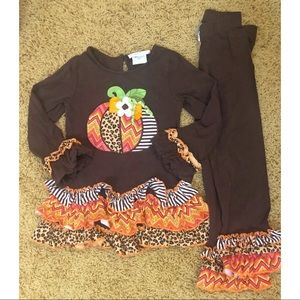 Emily rose pumpkin fall outfit